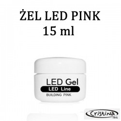 LED GEL SYSTEM - BUILDING PINK - 15ml