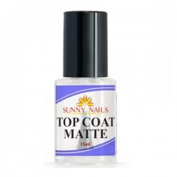 Top Coat MATTE 15ml Sunny Nails