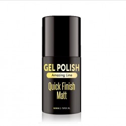 Quick Finish Matt  LED/UV - Gel Polish - Amazing Line - 5ml