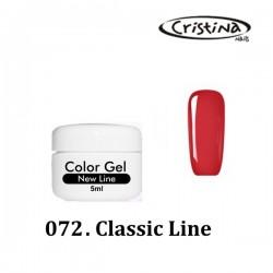 Kolorowy żel UV  - Classic Line - 072