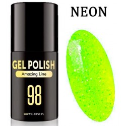 Lakier hybrydowy LED/UV - Amazing Line - 098 - Neon