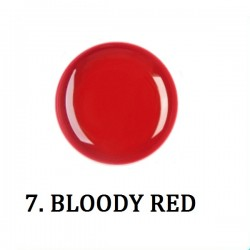 Farbki do zdobień BLOODY RED NR 7