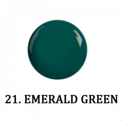 Farbki do zdobień EMERALD GREEN NR 21