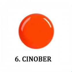 Farbki do zdobień CINOBER NR 6