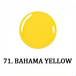 Farbki do zdobień BAHAMA YELLOW NR 71