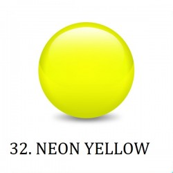 Farbki do zdobień NEON YELLOW NR 32