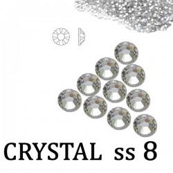 Cyrkonie Szlif Swarovski ss8 Crystal 50szt