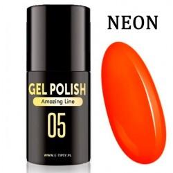 Lakier żelowy LED/UV - Amazing Line - 005 - Neon