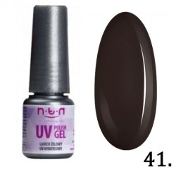 41. NTN Lakier żelowy UV - Brązowy - 6ml