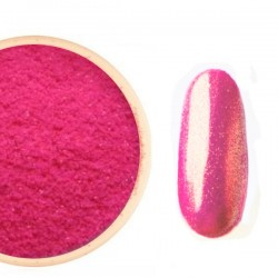 Gwiezdny Pyłek  Różowy NEON Opal. na Złoty