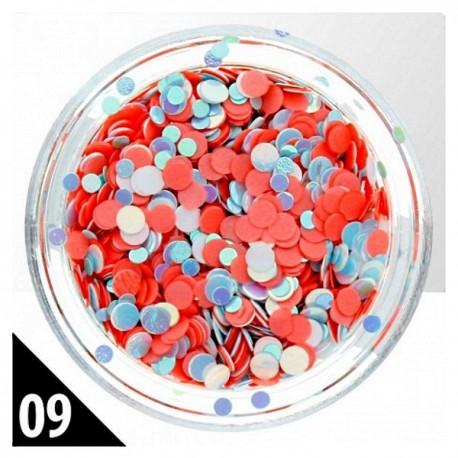 Kółeczka Mix nr 09