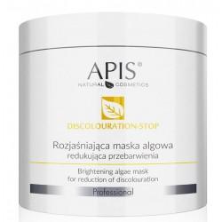 APIS Discolouration-Stop Rozjaśniająca Maska Algowa Redukująca Przebarwienia, 250g