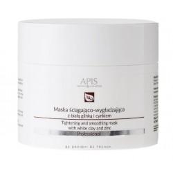 APIS Ane-Stop Maska Ściągająco - Wygładzająca z Biała Glinką i Cynkiem 200 ml