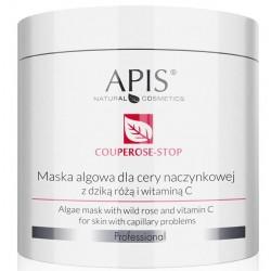 APIS Couperose- Stop Maska Algowa Dla Cery Naczynkowej 250g