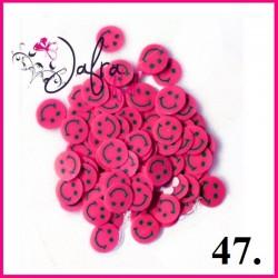 Fimo - buźki różowe w woreczku 10szt.