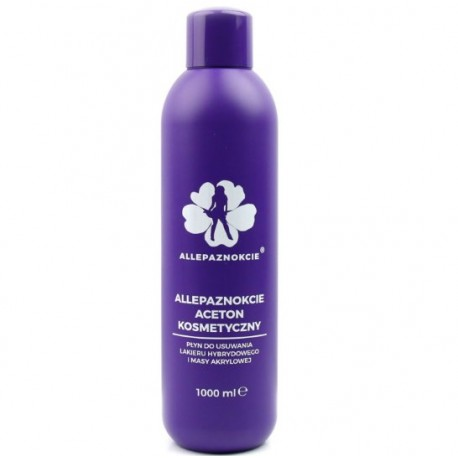 Aceton kosmetyczny Extra Strong 1000ml AllePaznokcie