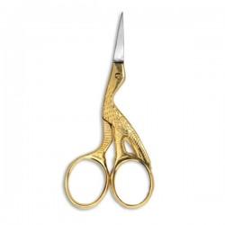 Nożyczki do jedwabiu złote - Silcare