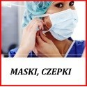 Maski, Czepki,