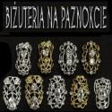 Biżuteria na paznokcie 3D
